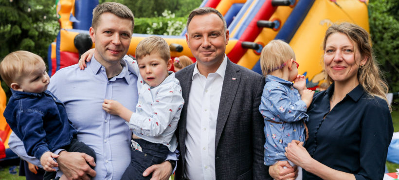 Wybierając Andrzeja Dudę wspieramy polskie rodziny!