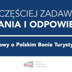 Polski Bon Turystyczny – informacja dla przedsiębiorcy turystycznego i organizacji pożytku publicznego