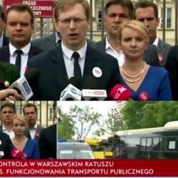 Kontrola w warszawskim ZTM